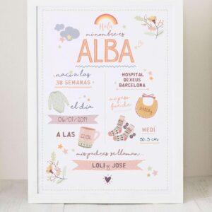 natalicio regalo bebe y nacimiento